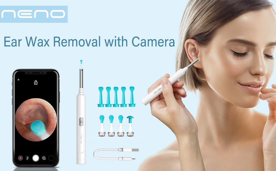 Ear Wax Removal with Camera