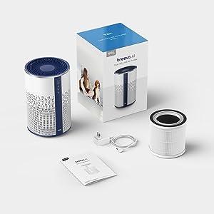 Air purifier pack list