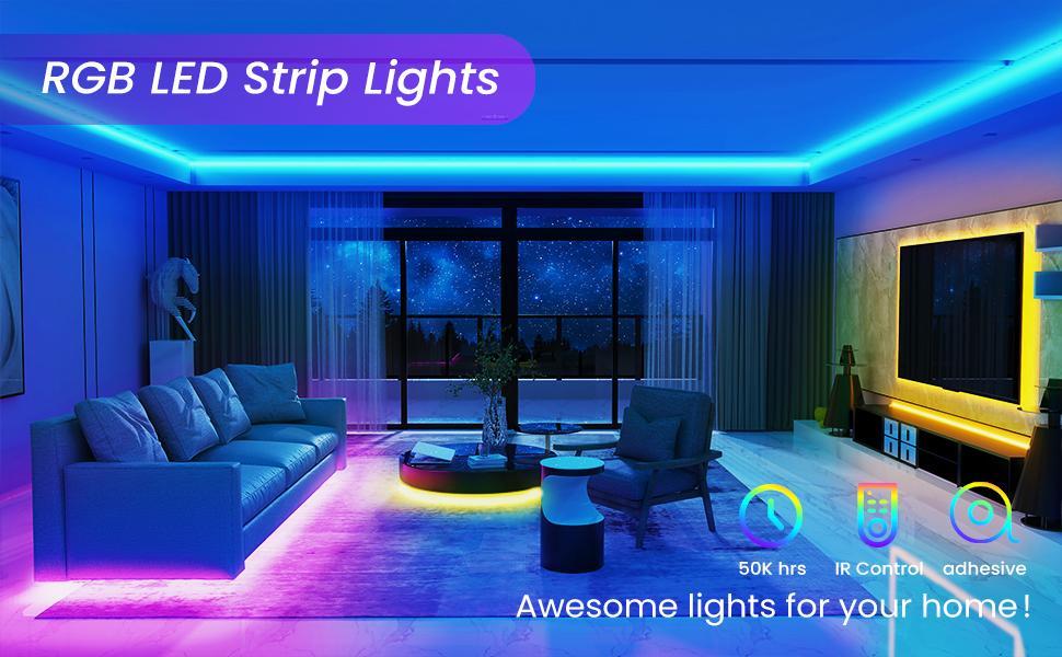 RGB LED Strip Lights