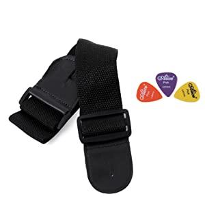 adjustable strap, 3 picks