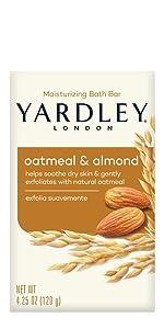 Yardley London Oatmeal & Almond Bar Soap