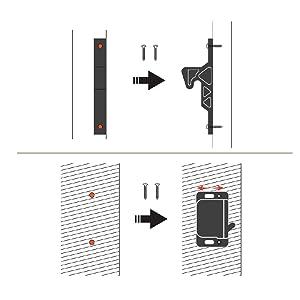 RV latches installation