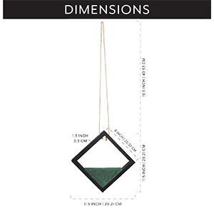 artificial floral pick hangers dimensions measurements