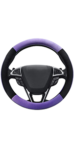 Plush Steering Wheel Cover
