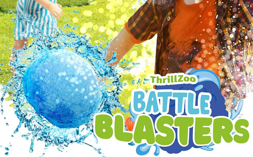 Reusable Water Balls Water Balloons for Kids Teens Adults