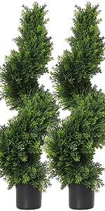 Artificial Cedar Cypress Trees /Artificial Cypress Topiary Trees