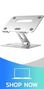 laptop stand - silver