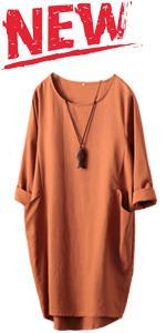 Oversize Tunic Dress