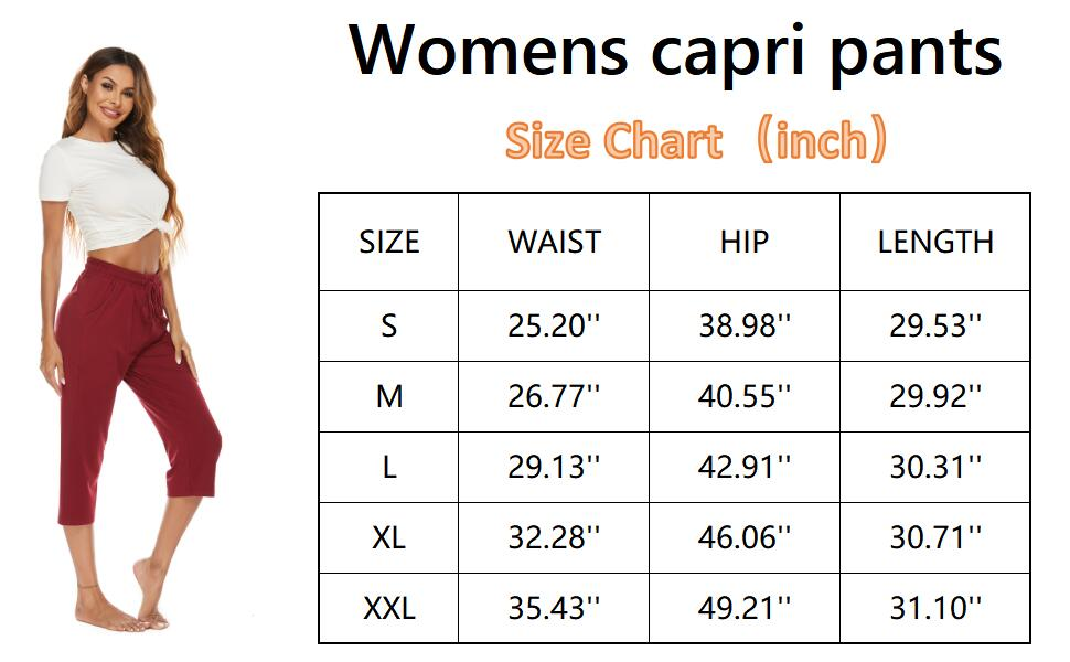Cropped yoga pants for women high waist