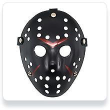 Jason Mask Cosplay Style 1