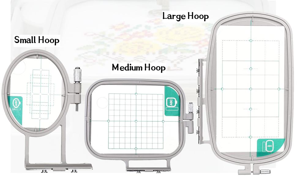 Embroidery Hoop Set