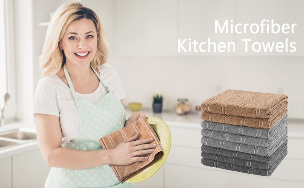 Microfiber Kitchen Towels