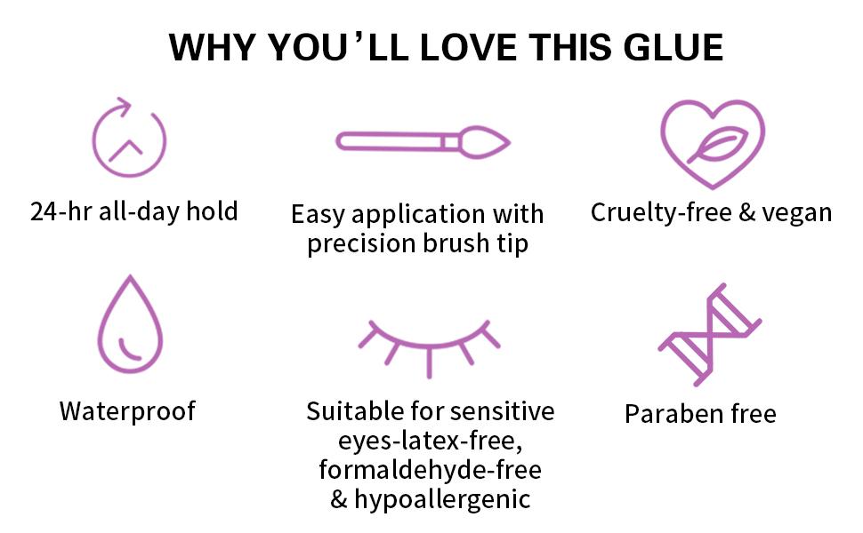 How to use Melason Eyelash Glue