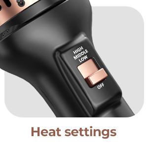 Heat settings