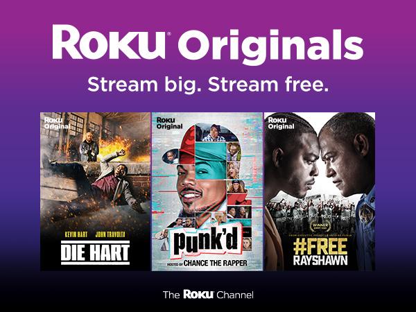 Roku originals stream big stream free