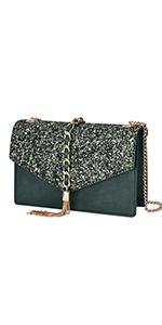 GM LIKKIE Glitter Evening Bag