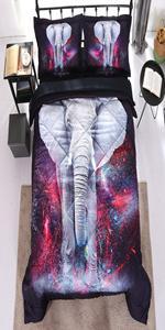 black elephant comforter set