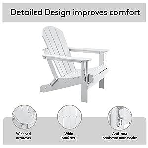 Adirondack Chair Weather Resistant