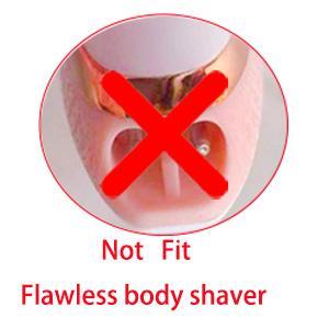 NOT FIT flawless body razor