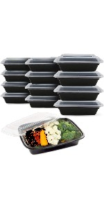 sewtco 38oz meal prep container
