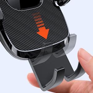 Adjustable Foot of the phone mount for car