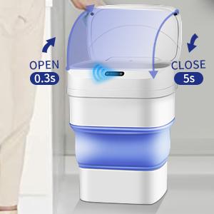motion sensor garbage cans for kitchen kitchen garbage can automatic trash can smart trash can
