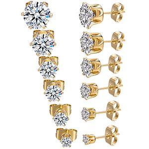 stud earrings, earrings for women