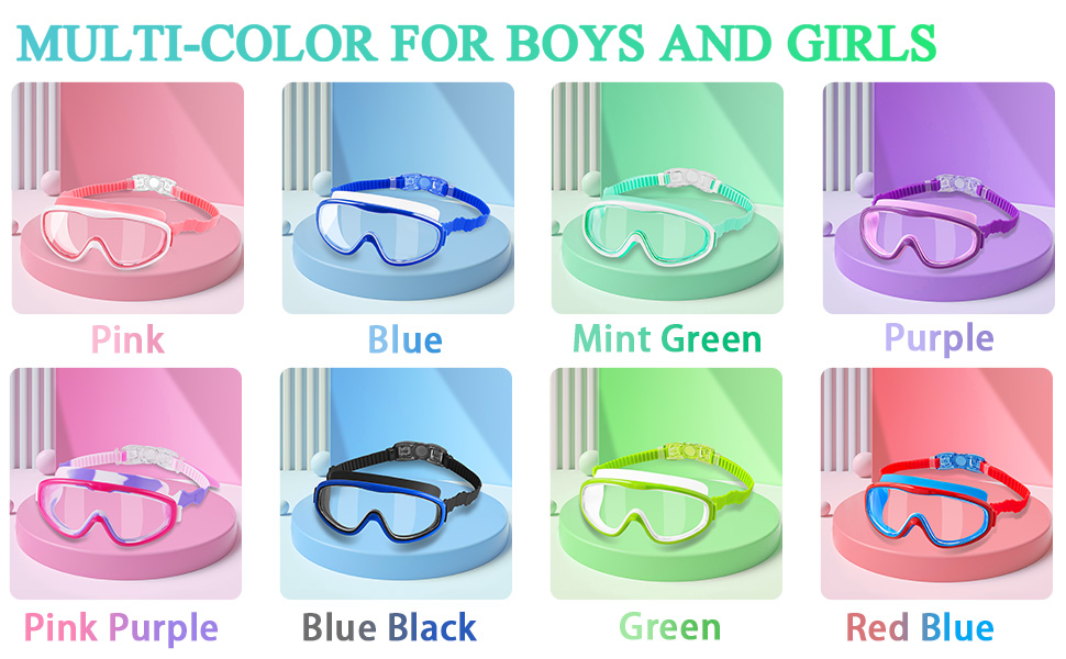 Swimming Goggles for Boys and Girls