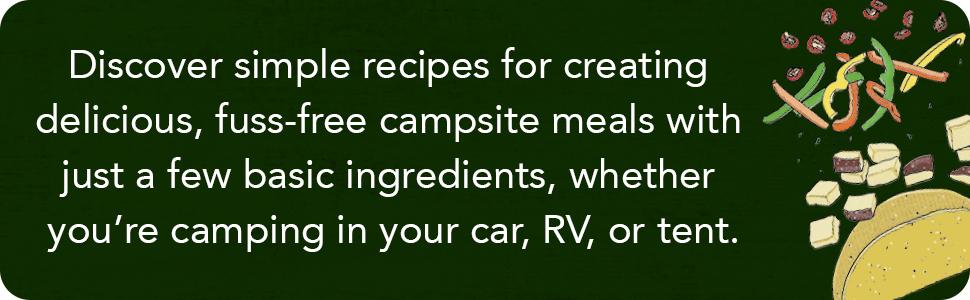 camping cookbook, camp cookbook, campfire cooking, campfire cookbook, camp cocktails