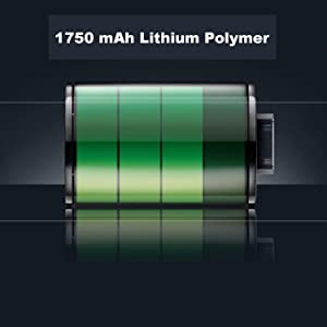 Built-in Long Life Lithium Battery
