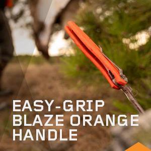 Easy-Grip Blaze Orange Handle