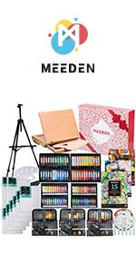 MEEDEN 148-Piece Deluxe Artist Painting Set