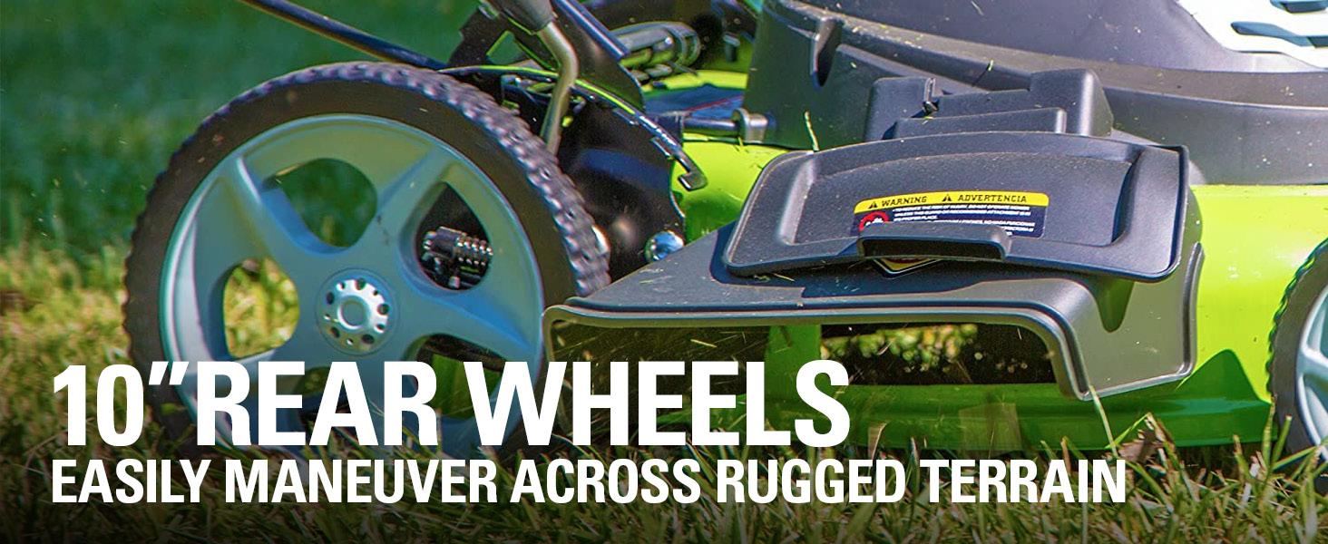 """10""""Rear Wheels"""