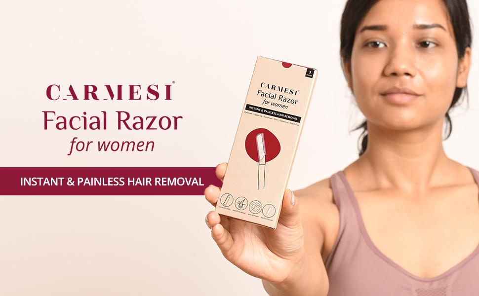 Carmesi Facial Razor For Women