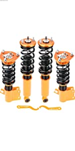 Updated Coilovers Shock Nissan Coil Spring Absorber Suspension Strut