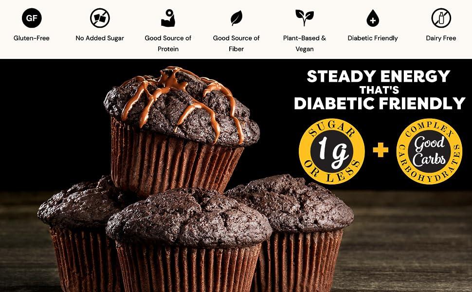 TruEats Dutch Chocolate Muffin and Cake Mix