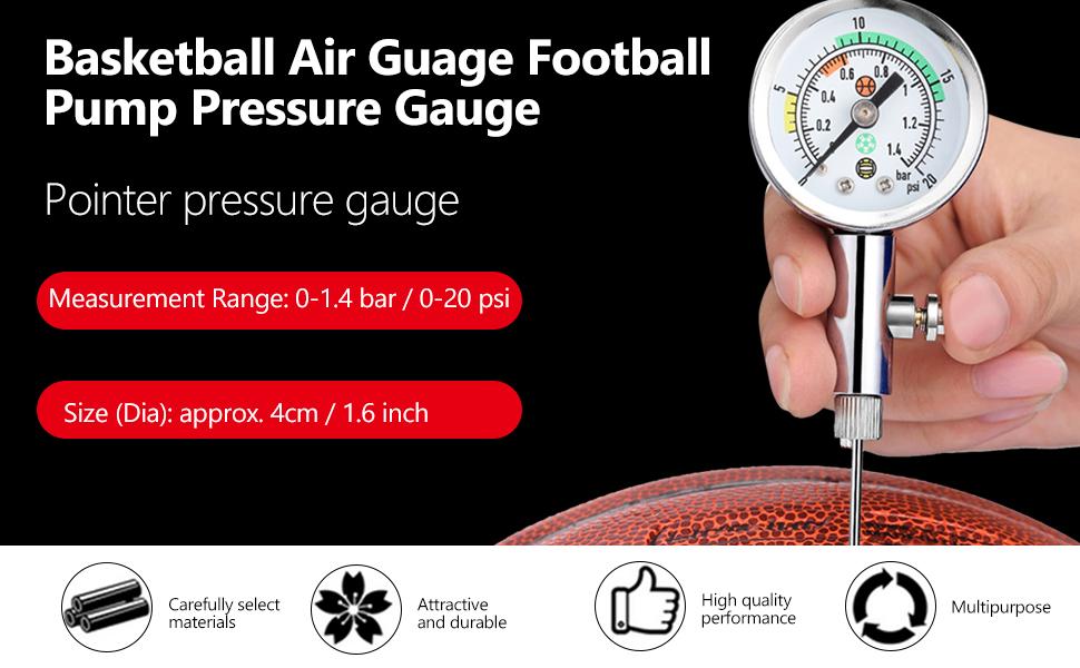 Accurate Ball Pressure Gauge