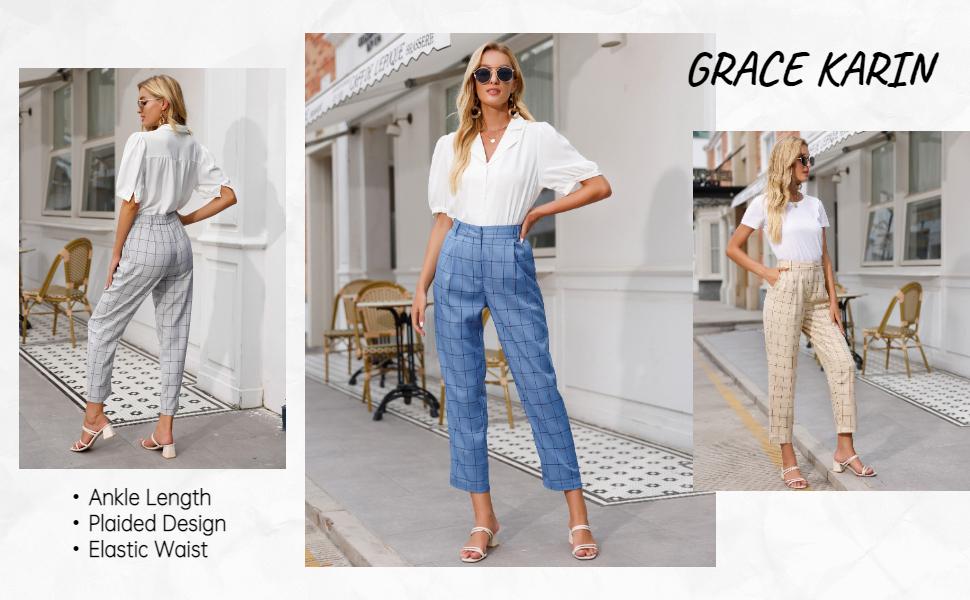 GRACE KARIN women pants for work