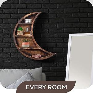 every room moon shelf