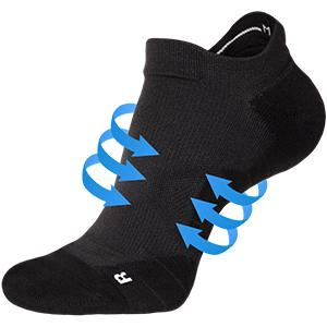 compression no show socks