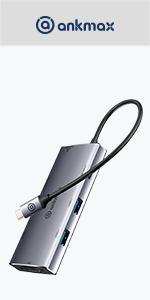 USB C HUB 8in1