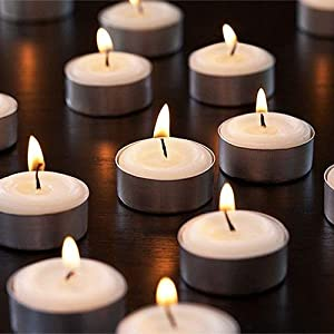 Tea Light Candles candlelight dinner candle luxury lighting centrepiece night burners luminaries