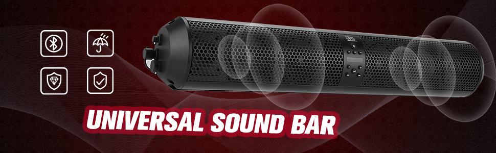 utv bluetooth sound bar