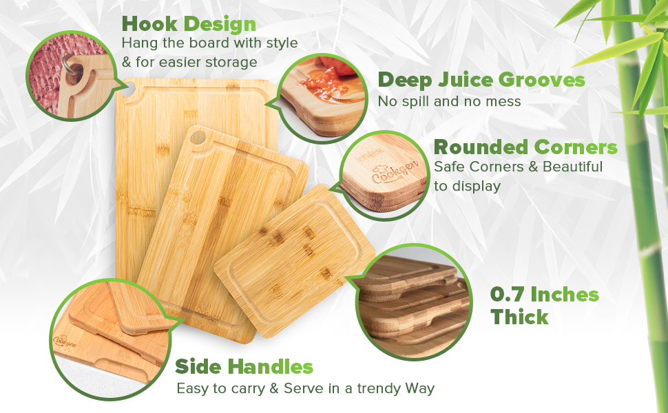 Wooden Cutting Boards For Kitchen