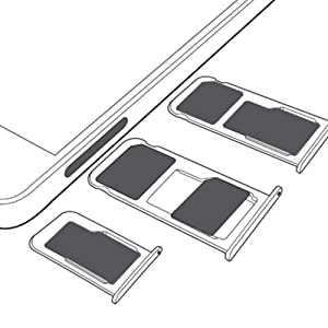 Single card tray, dual card tray, card holder, card reader card tray sd card tray replacement parts