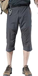 men hiking summer shorts