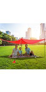 Beach Tent Sun Shelter