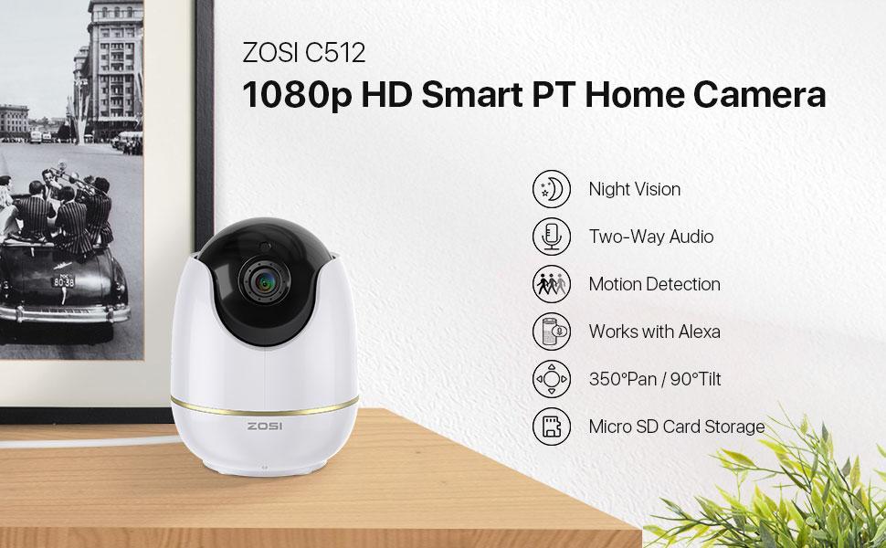 C512 WiFi Home Security Camera