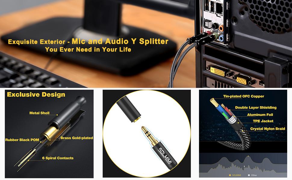 PC splitter cable