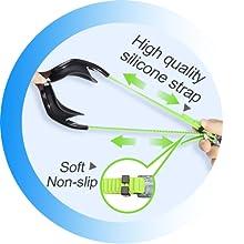 silicone strap